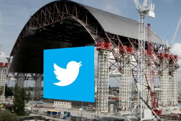 Remueven domo de Chernobyl para tapar Twitter y sus comentarios tóxicos