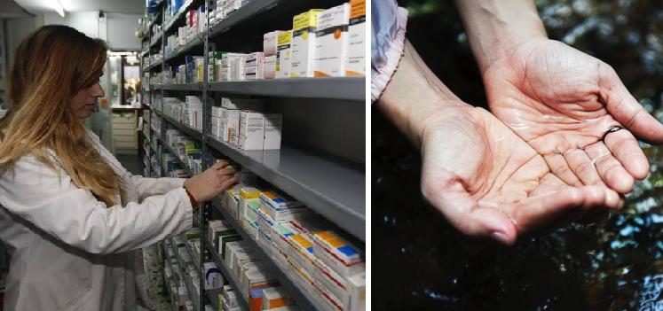 Ante falta de medicinas, gobierno distribuirá agua de Tlacote en todas las clínicas del país