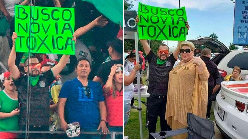 Este compa se puso a buscar novia tóxica en el México-Ecuador y ya le cayeron como 20 candidatas