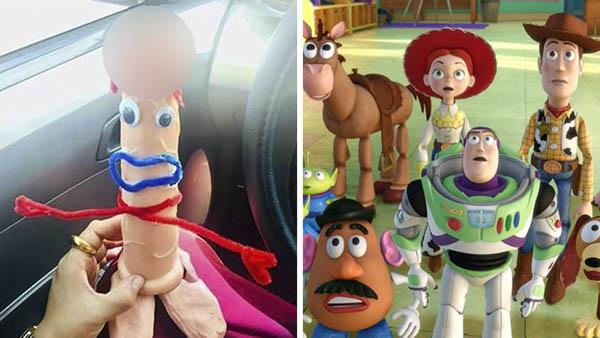 Consoladores protestan afuera de casa de Andy por falta de inclusión en Toy Story