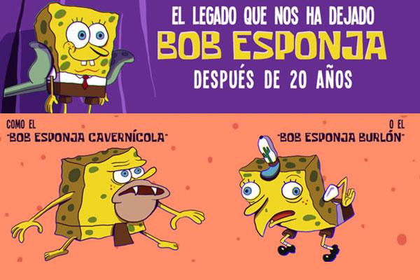 El legado que nos ha dejado Bob Esponja después de 20 años