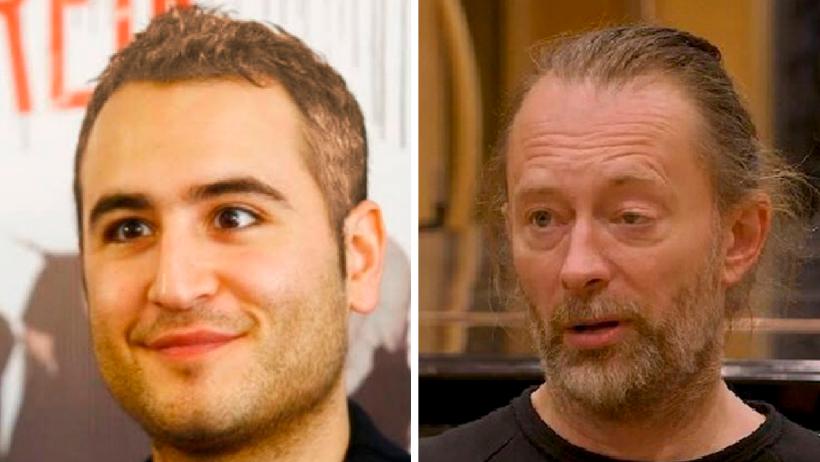 Dark nivel: Descubren que Thom Yorke es el vocalista de Reik del futuro