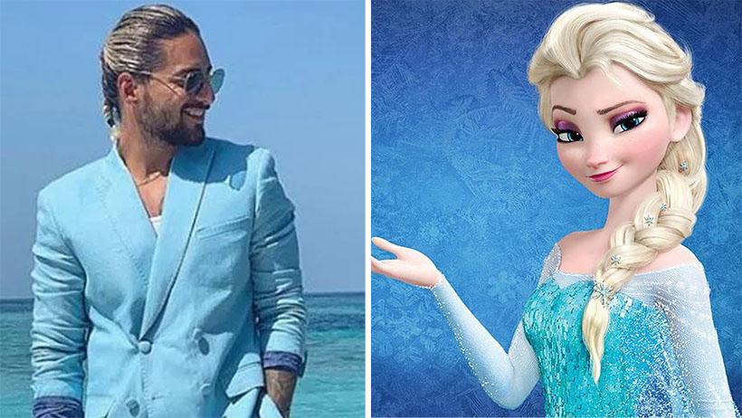 Disney confirma a Maluma para interpretar a Elsa en el live-action de Frozen