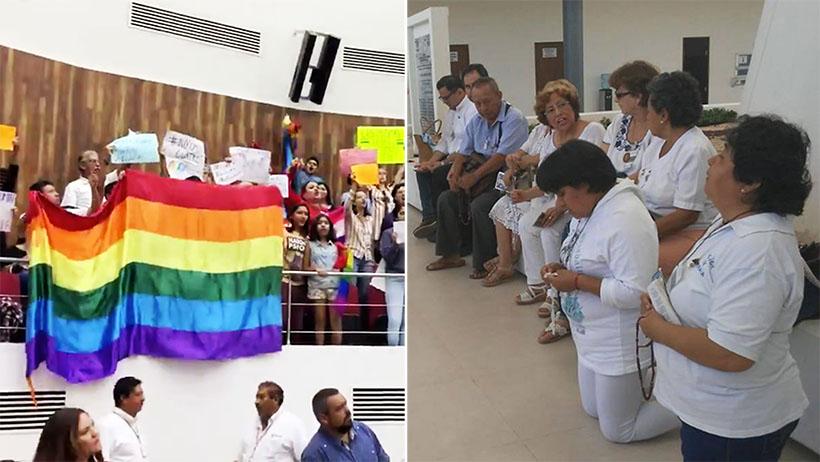 Edad Media nivel: Congreso de Yucatán le acaba decir que no al matrimonio igualitario
