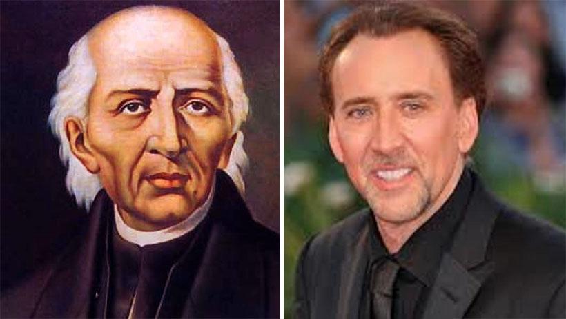 Don Miguel Hidalgo interpretará a Nicolas Cage en película biográfica