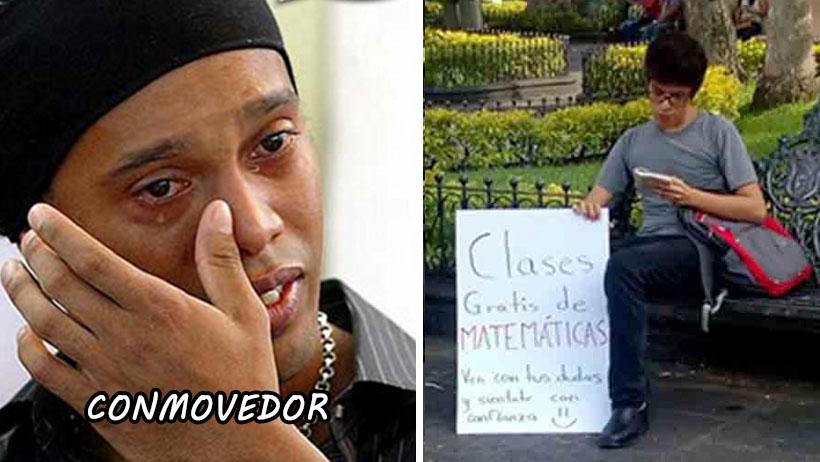 Este morrito da clases de mate en el parque y ya hizo más por México que muchos políticos