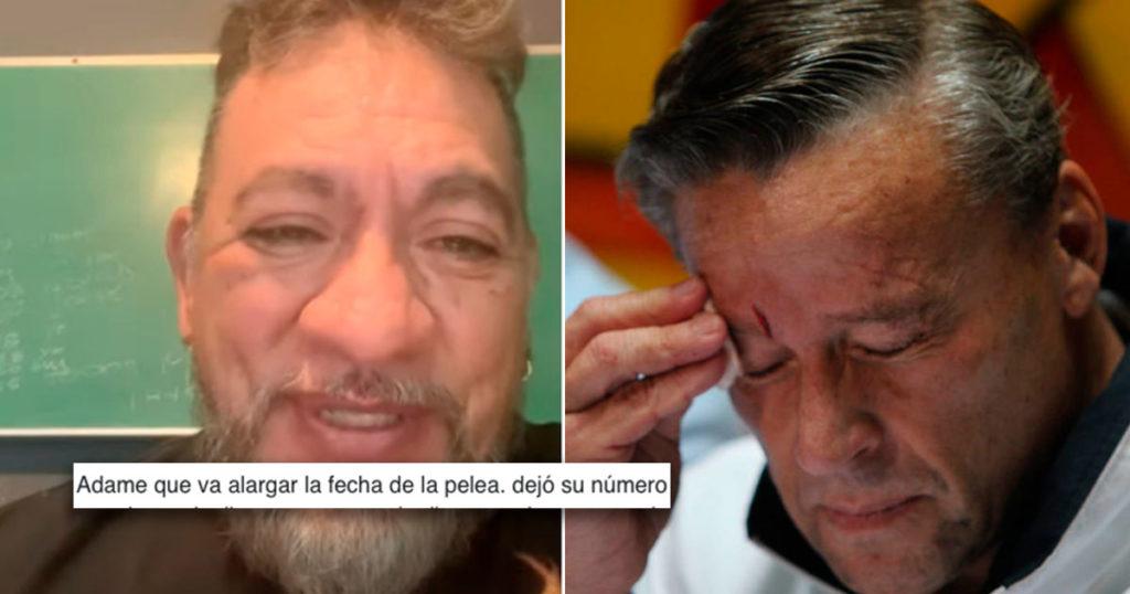 Carlos Trejo filtró el teléfono de Alfedo Adame y el internet se lo está acabando