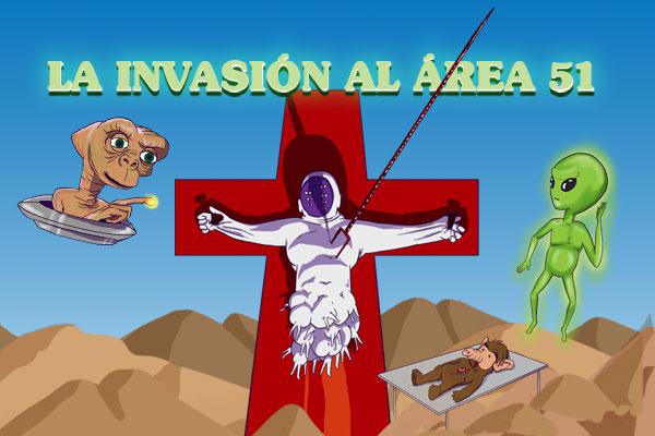 ¿Qué podremos encontrar en la invasión al Área 51?