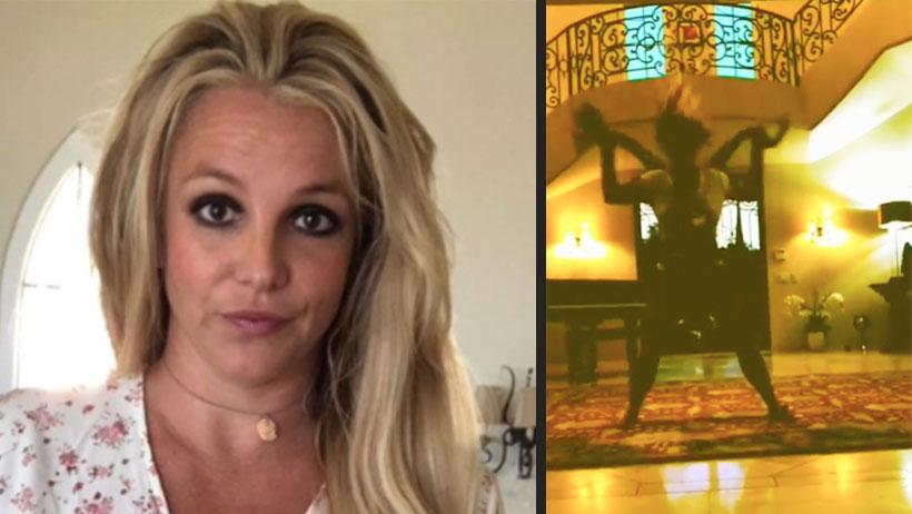 Este video nos demuestra que Britney Spears por fin perdió la cabeza (de nuevo)