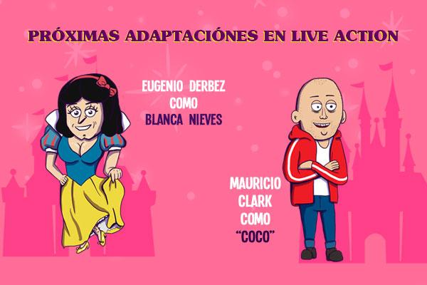 Próximas adaptaciones en Live Action