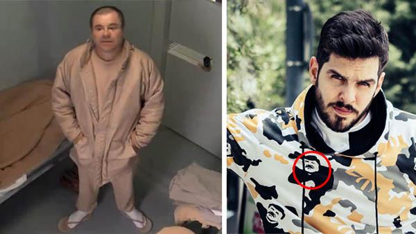 Sentencian al Chapo a cadena perpetua mientras su hija saca línea de ropa con su cara