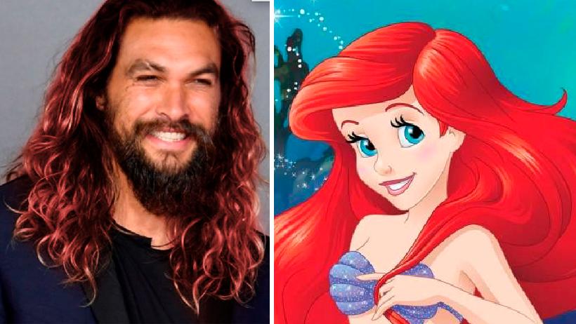 Tras críticas, Disney cambia de planes y ahora Jason Momoa será La Sirenita