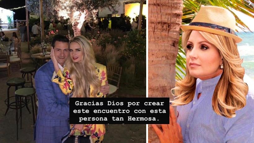 ¿Creías que el amor no existe? Tania Ruiz le agradece a Dios por su romance con EPN