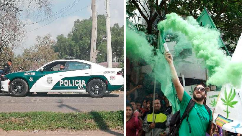 Las patrullas de la CDMX serán verdes para la comodidad de los marihuanos