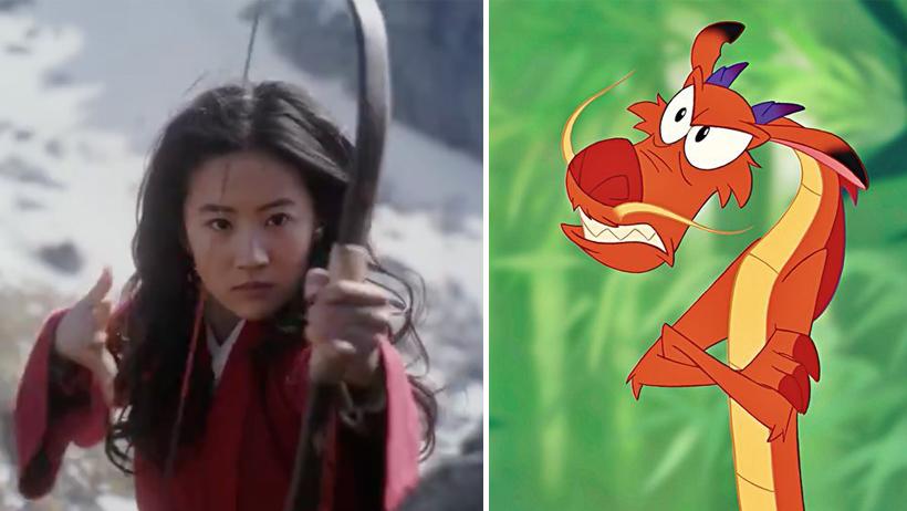 Sacan tráiler de Mulan y la gente se queja de que Mushu no será un dragón de verdad