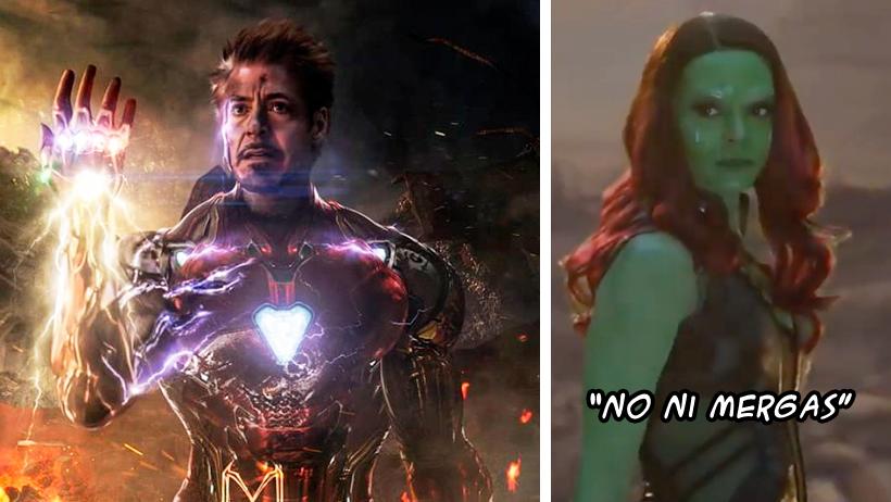 Así era el verdadero final de Iron Man en Avengers: Endgame y el internet sigue berreando