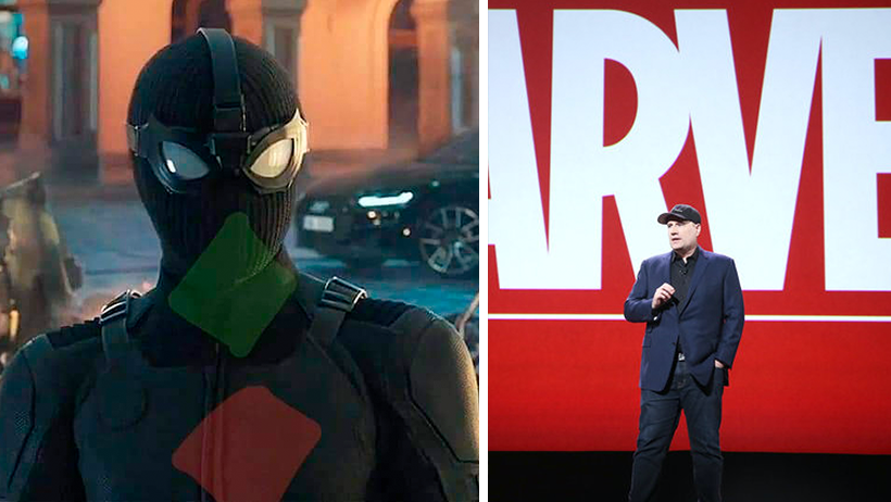 Tras cameo en Far From Home, Marvel anuncia película de Calcentín con Rombos Man