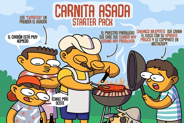 Carnita asada starter pack