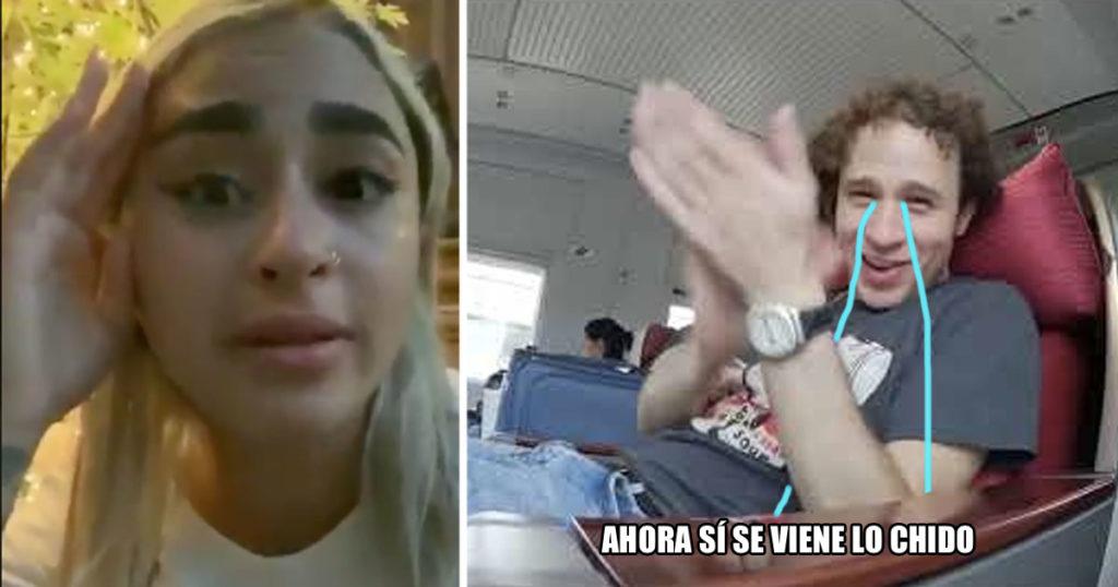 Ya salió la (ex) novia del maldito infiel de Luisito Comunica a hablar de lo sucedido
