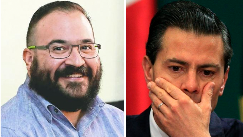 ¿Ahora sí, no? Javier Duarte quiere hacer el bien y balconear a varios amigos de EPN