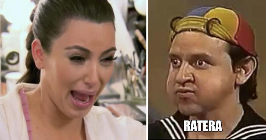 Así es como el Internet anda apedreando a Kim Kardashian por ratera