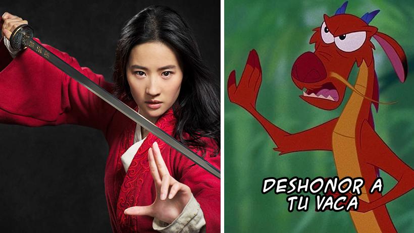 Así es como Disney quiere arruinar a Mushu en la película de Mulán y el internet ya pegó el grito