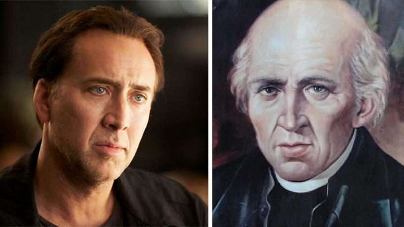 Nicolas Cage vendrá a Guanajuato y podría descubrir que es nieto de Miguel Hidalgo