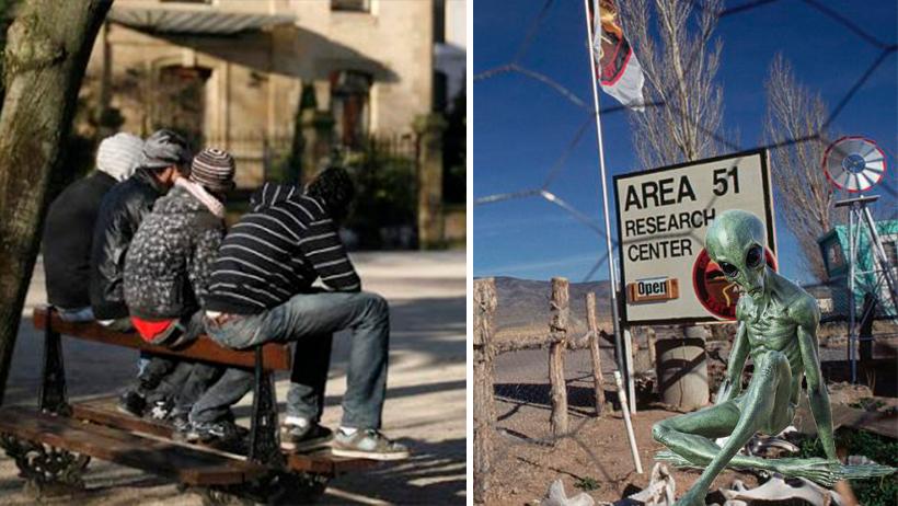 AMLO enviará a los ninis que mantiene como apoyo para el ataque al Área 51