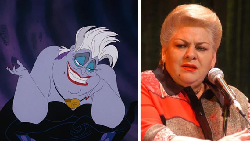 Disney rechaza a Paquita la del Barrio como Úrsula en La Sirenita por no ser Morada