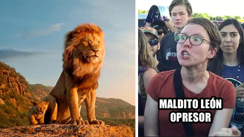 Los progres quieren boicotear al Rey León por fomentar el fascismo y machismo ¿Kheee?