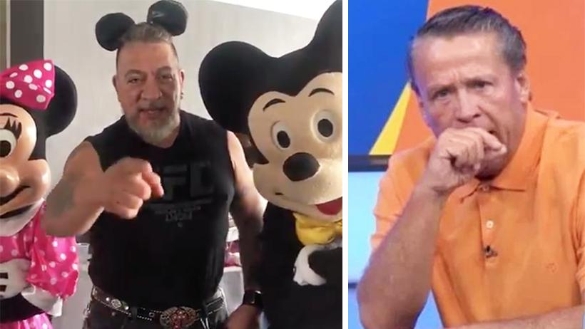¡Ya valiste Adame! Disney ya le declaró su apoyo incondicional a Carlos Trejo
