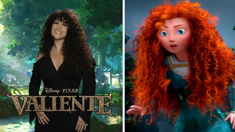 """Disney confirma a Amanda Miguel para estelarizar el live-action de """"Valiente"""""""