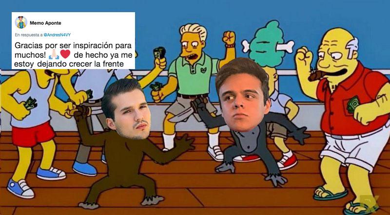 ¡Pelea de inválidos! Andrés Navy (¿quién?) acusa a Memo Aponte de copiarle todos sus videos