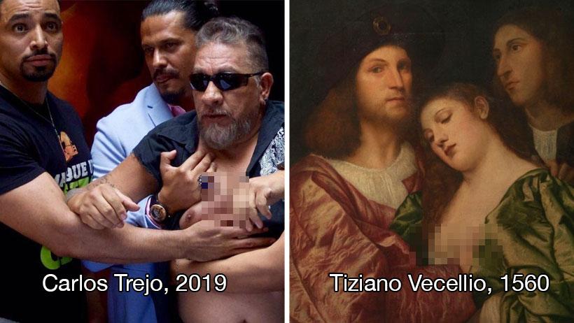 19 contundentes memes del botellazo que le acomodó Carlos Trejo a Alfredo Adame