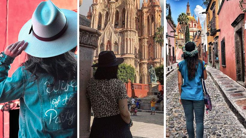 Whitexicans descubren que también se pueden tomar la foto de frente en San Miguel de Allende