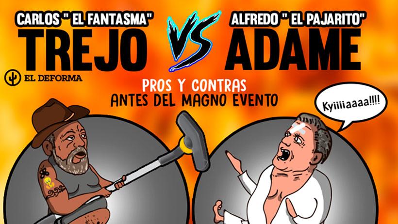 """Pros y contras antes del magno evento entre Carlos """"El Fantasma"""" Trejo VS Alfredo """"El pajarito"""" Adame"""
