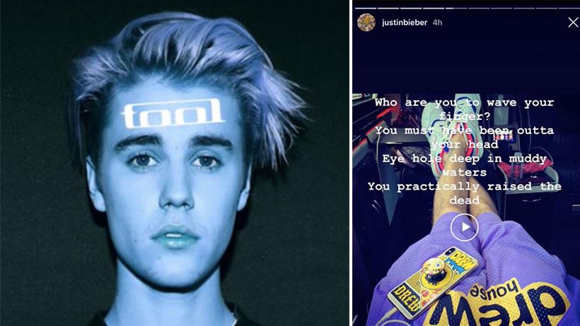 ¡Paren todo! Justin Bieber (¿quién?) se declara fan de Tool (¿quién?) y el internet no sabe qué hacer