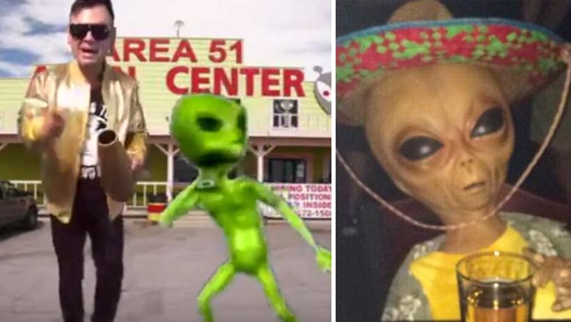 Escucha la cumbia del Area 51