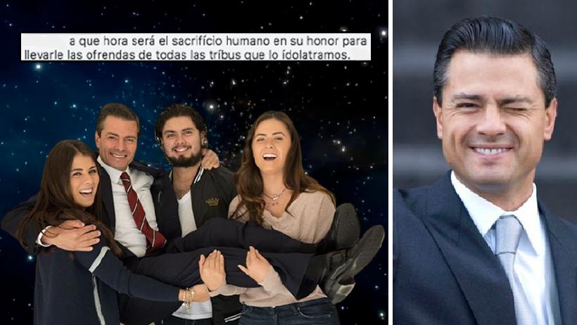 Los hijos de EPN trataron a su papá como el ángel que es y así reaccionó el Internet