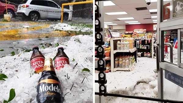 16 sorprendentes fotos que nos dejó la intensa granizada en Guadalajara