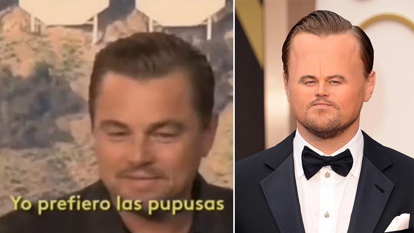Momento exacto en el que Leonardo DiCaprio desprecia los tacos y México no lo pudo creer