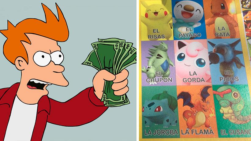 Ya llegó la lotería mexicana de Pokemon y está lista para llevarse tu dinero