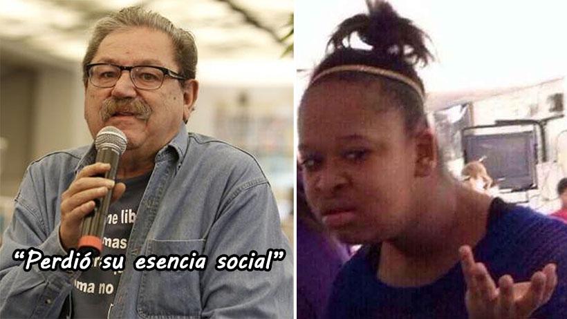 """Paco Taibo, el creador de """"se las metimos doblada"""" afirma que Morena ya se dobló"""