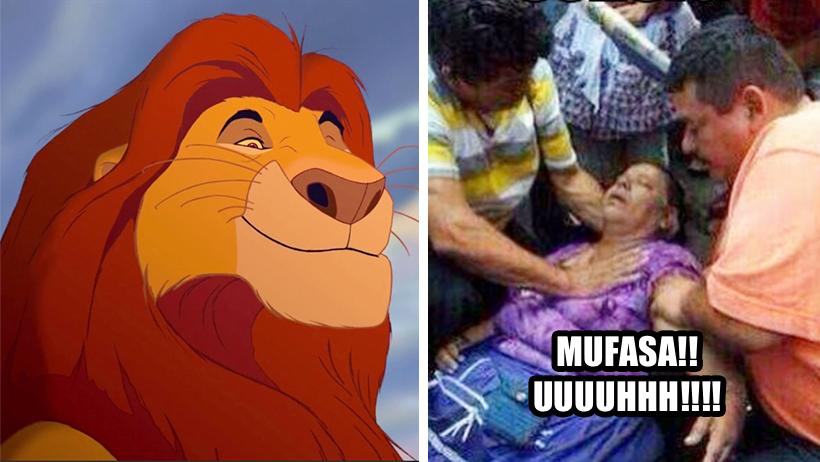 """Estudio revela que escuchar el nombre """"Mufasa"""" provoca miedo y fuerte temblorina"""