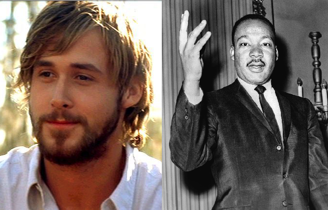Ryan Gosling interpretará a Martin Luther King en película biográfica