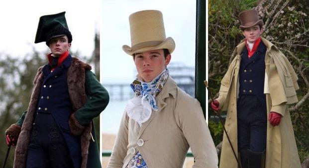 Este héroe anti-posmoderno se niega a ponerse ropa actual para sólo usar moda del siglo XIX