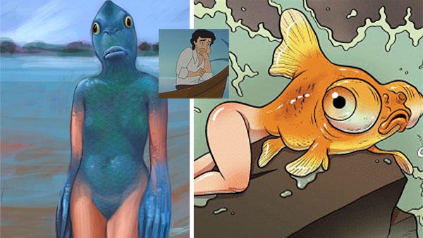 Para evitar peleas, Disney opta por una sirena invertida para remake de La Sirenita
