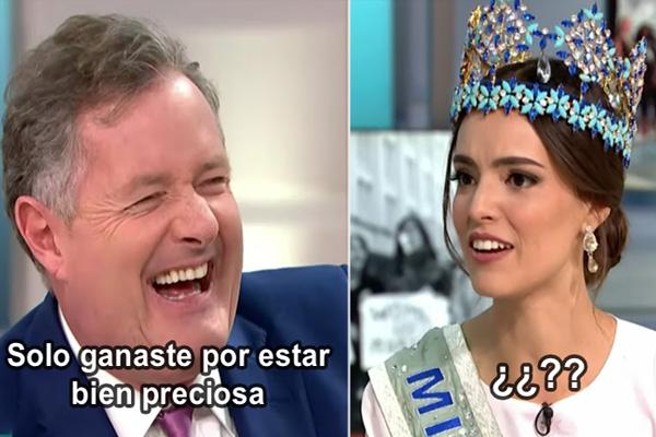 Momento exacto en el que esta mexicana le calló la bocota a este igualado presentador