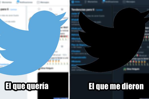"""Primero La Sirenita y ahora esto: Twitter cambia su apariencia a """"modo oscuro"""""""