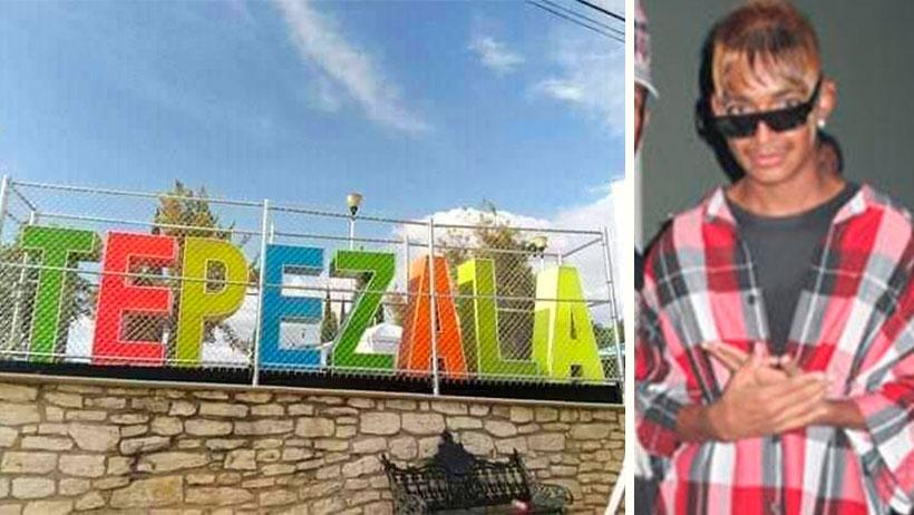 Quítate Ecatepec, en este pueblo tuvieron que enjaular las letras para que no se las robaran